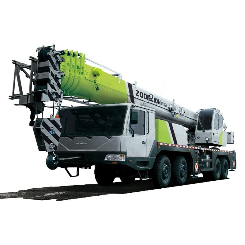 Zoomlion new 50/ 55 ton mobile hydraulic pickup truck crane truck+cranes for sale cheap price QY55V
