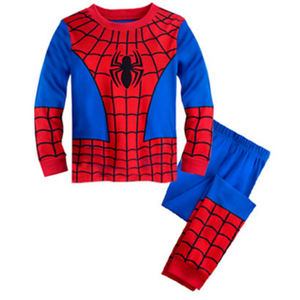 Fashion Cool American Movie Hero Spiderman Cosplay Costume For Kids Party Idea