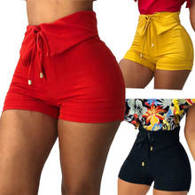 90623-MX62 high waist 3 colors summer women shorts
