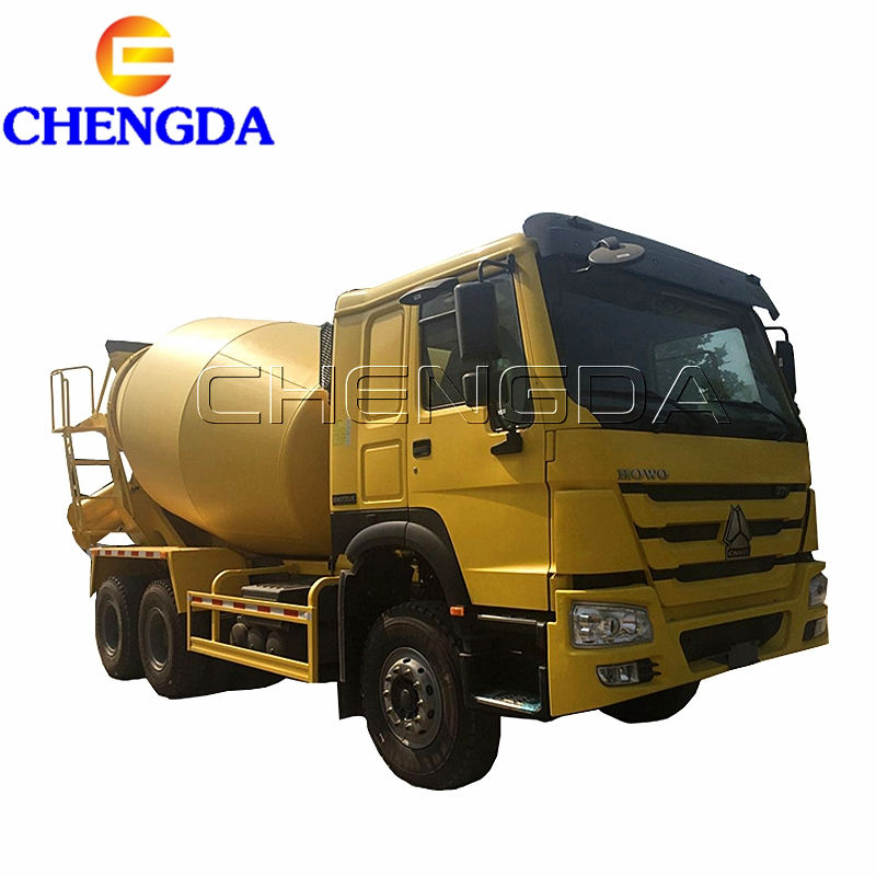 Popular Yellow Sinotruck 6x4 9cbm 10 cbm Concrete Truck for Africa