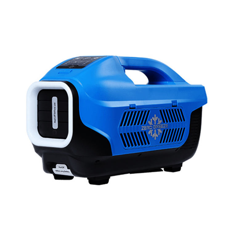 Zero Breeze 150W life-long maintenance free 12V mini refrigeration compressor portable air conditioner