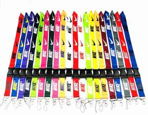 Various colors Nike lanyards at stocks for sale