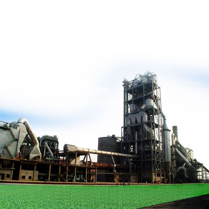 500TPD Cement production process plant line factory price
