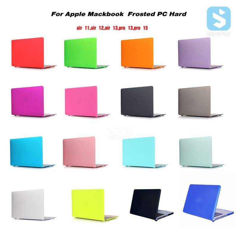 Accesorios ecológicos para portátil para Macbook Air Cover 11 12 13 pulgadas, para funda Macbook Pro, plástico duro para funda Macbook