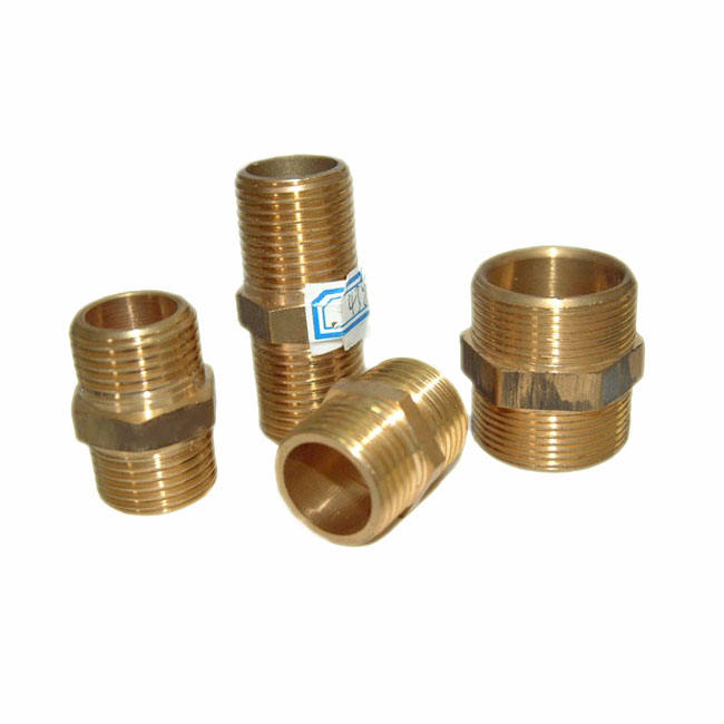 Brass quick connect hydraulic tube and pipe threaded connector hose fittings manufacturer suppliers in Donguan