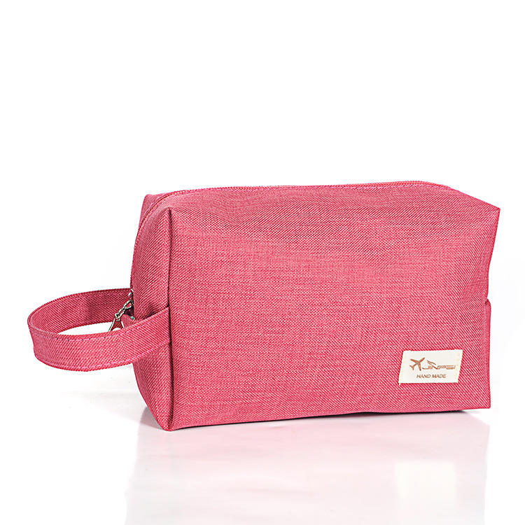 Promotional Oem Eco-Friendly Folding Travel Make Up Organizer Beach Beauty Travel Cosmetic Bag