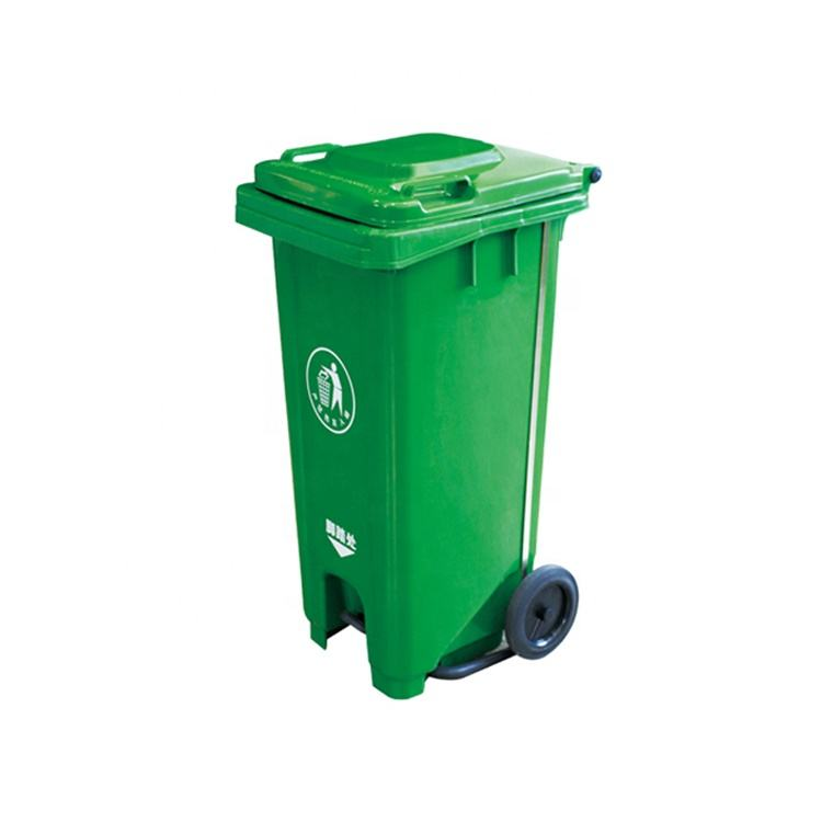 Trash Can 120Liter Waste Dust Container big plastic pedal trash bin