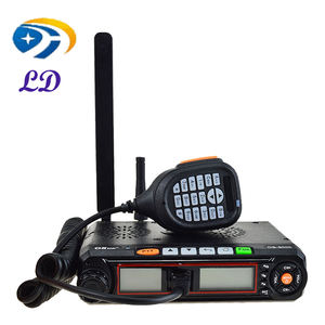 Talkie-walkie 25w 100km os-9000 uhf vhf radio mobile marine