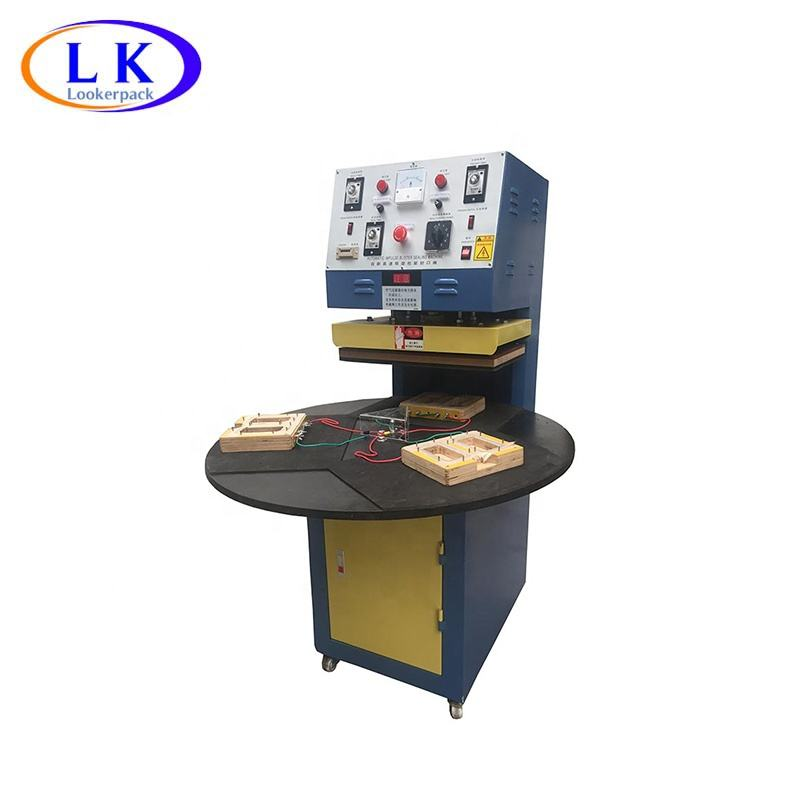Single Head Rotary Packing Machine / Blister Sealing Machine With CE