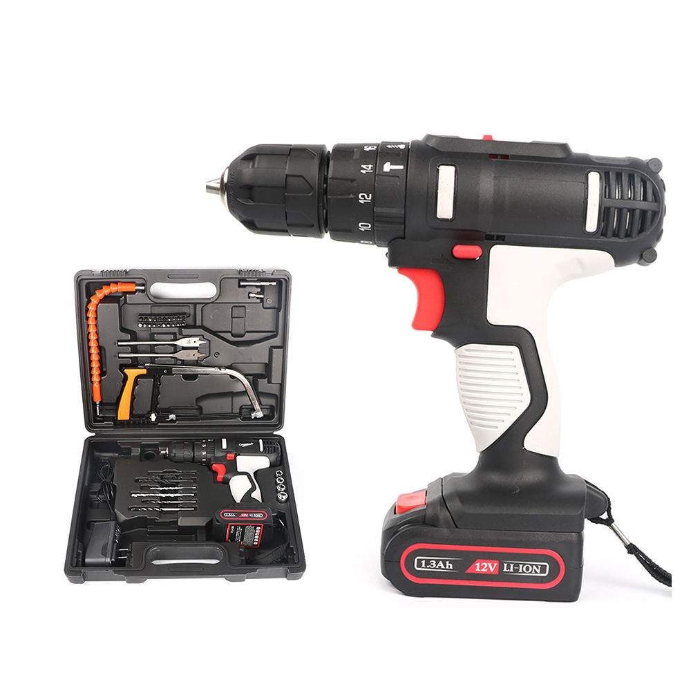 12v li-ion battery mini cordless electric drill
