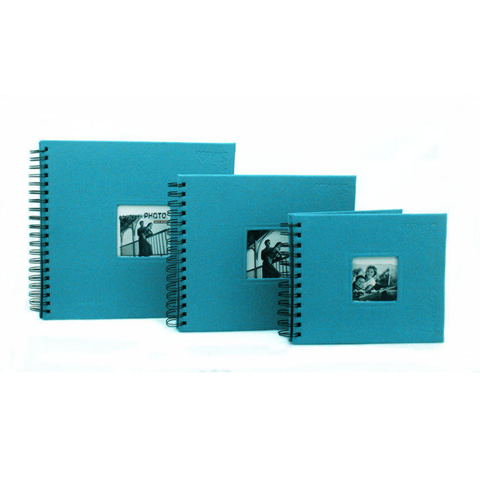 Fancy craft gift hard cover embossing offset printing photo album