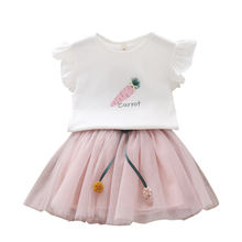 Online Store India Boutique Summer Simple Girls Short Dresses Set For Baby Wear From Aliexpress