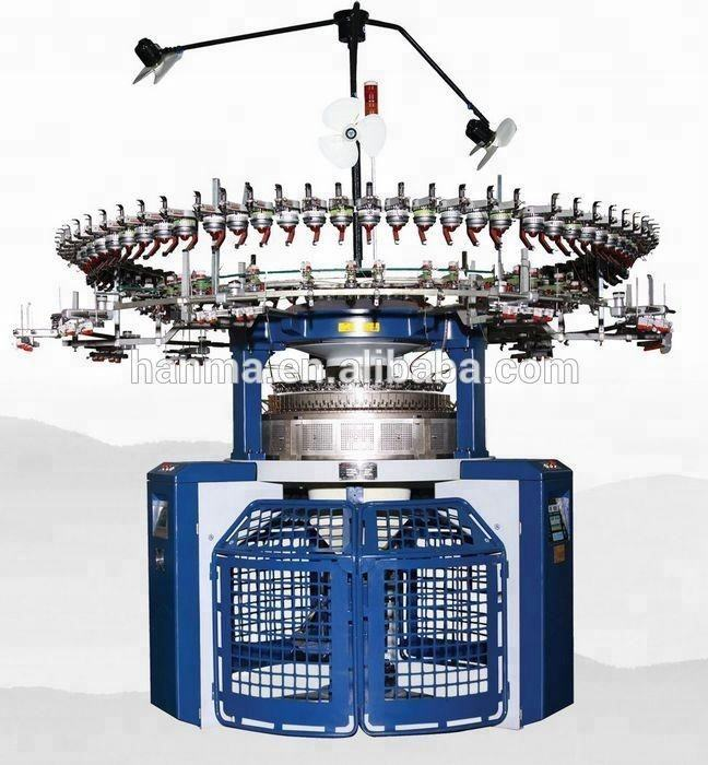 Pattern Wheel Jacquard Double knitting Machine
