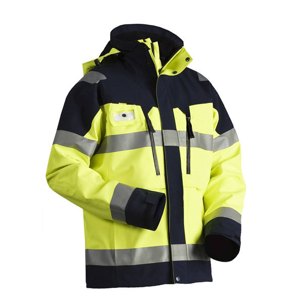 Winter outdoor workwear coat men's working jacket reflective safety jacket