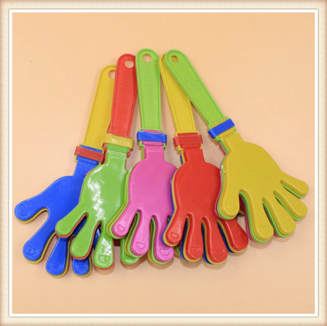 High Quality Sport Toy Plastic Hand Clapper