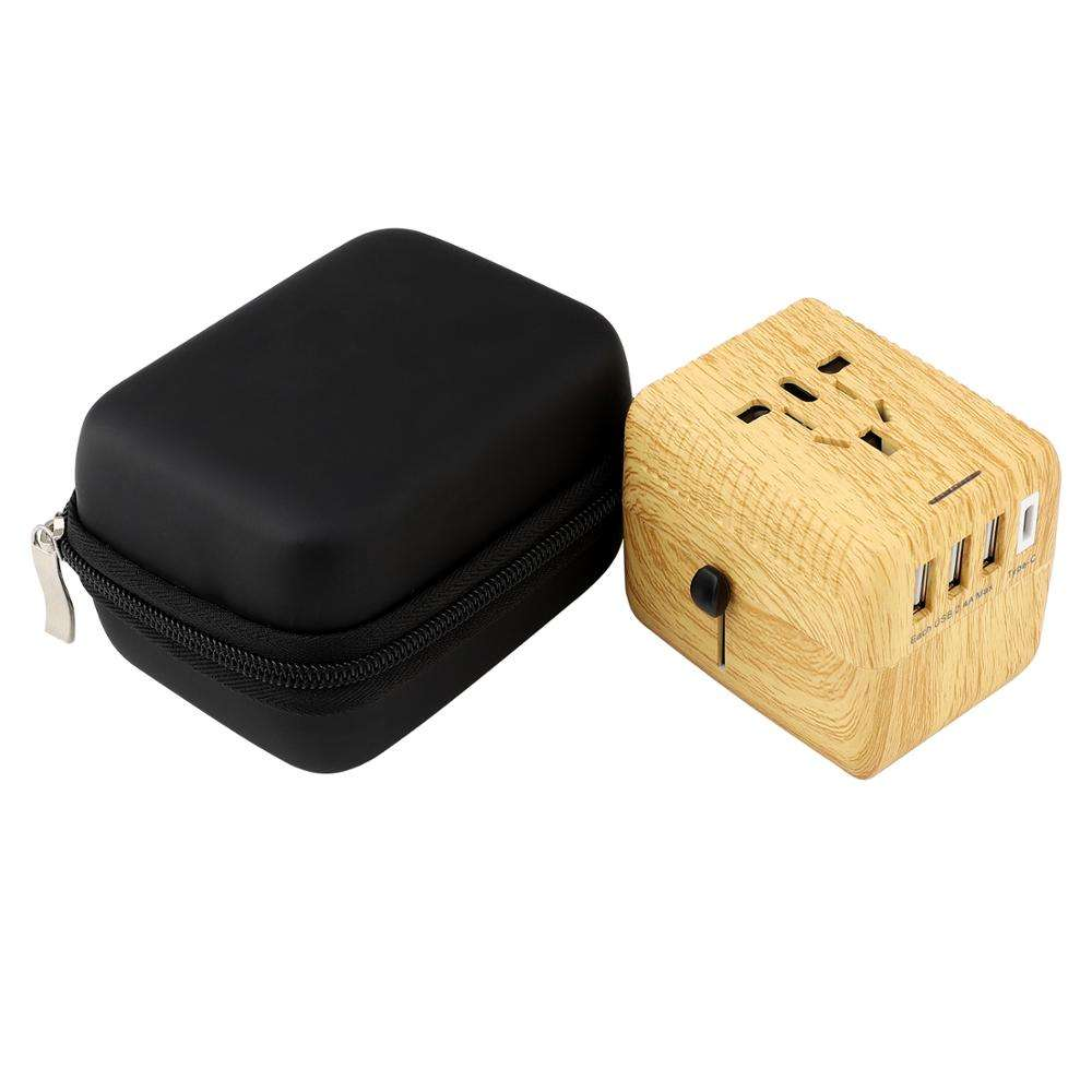 Corporate ของขวัญ USB Charger Universal Travel Adapter All in One ปลั๊ก US UK US EU adapter