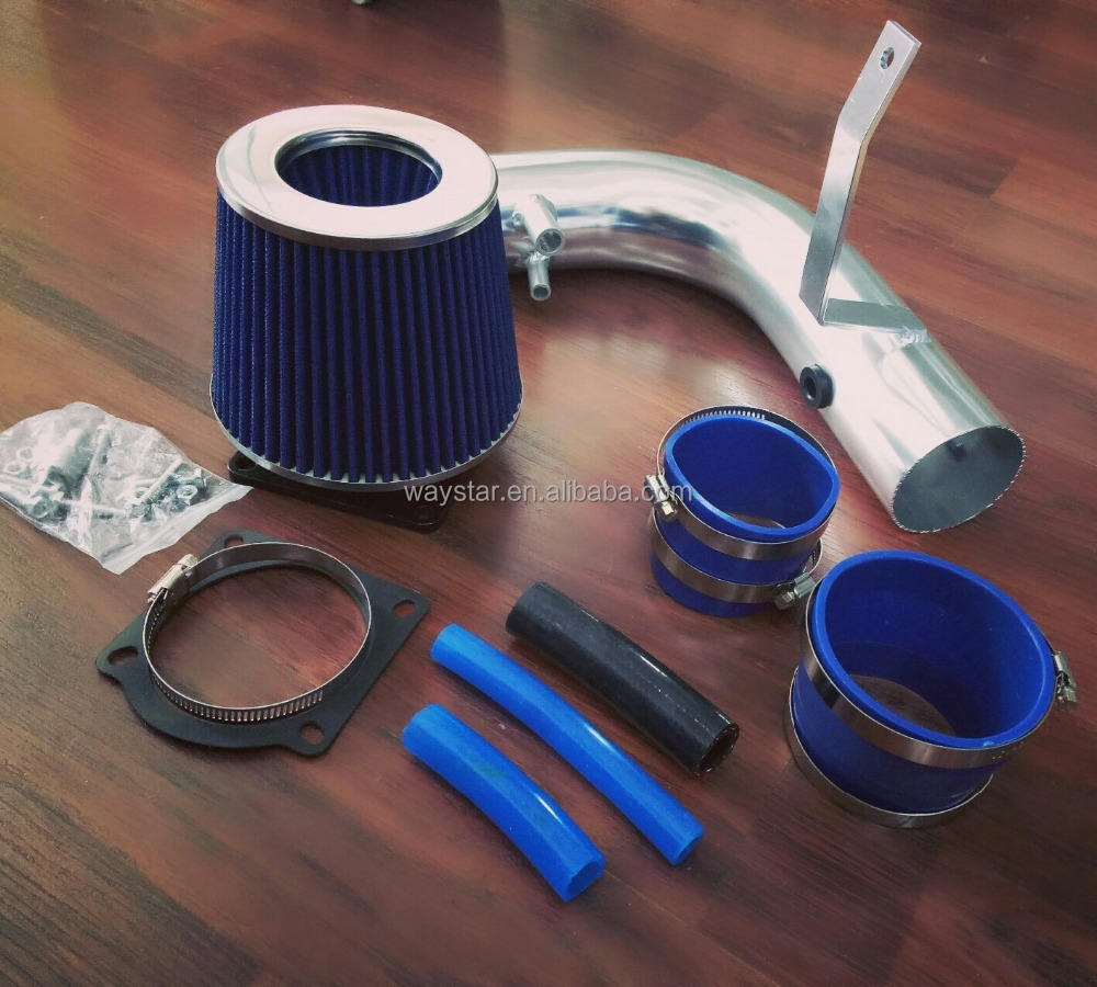 1997-2003 Ford F150//Expedition 4.6//5.4L Racing Air Intake Kit System Blue Filter