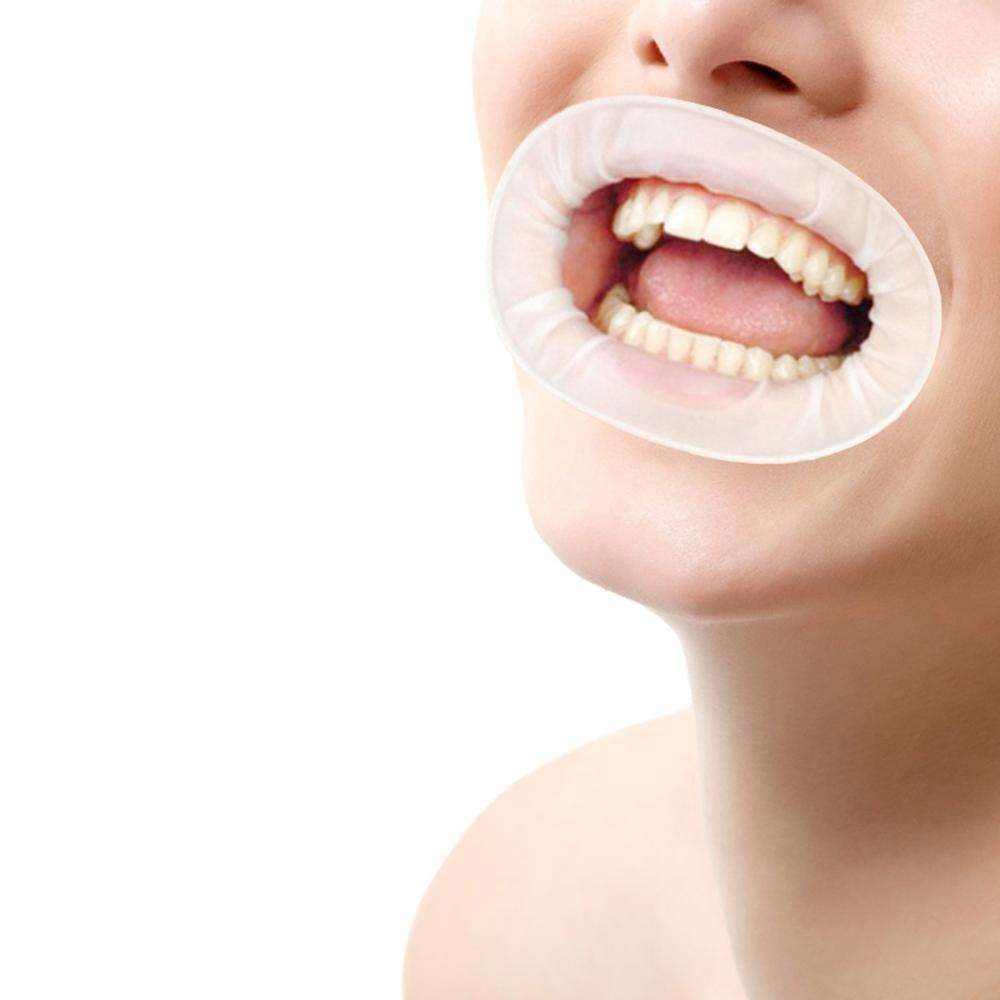 Disposable rubber material dental rubber dam dental and mouth gag for dental clinic