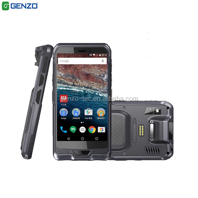 Rugged Android Mobile Phone Portable 1D/2D Barcode Scanner Smart Phone Android For Supermarket and Industry