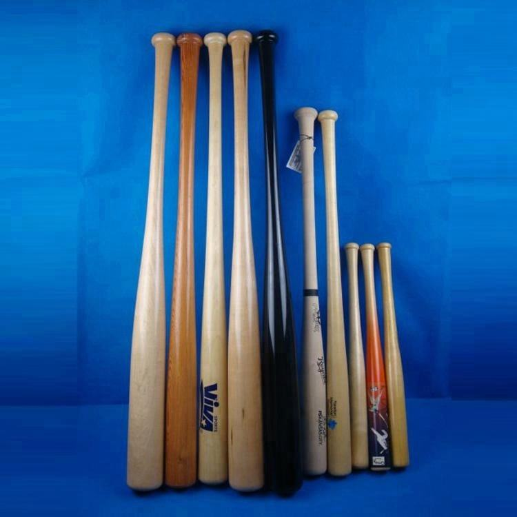 Baseball Bats Wooden Wholesale Custom Adult Wooden Baseball Bat