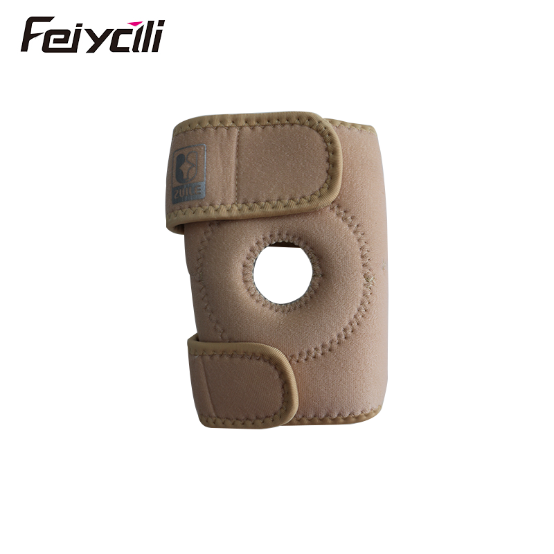 Free Sample Compression knee arm elbow sleeve pads Knee Brace Support