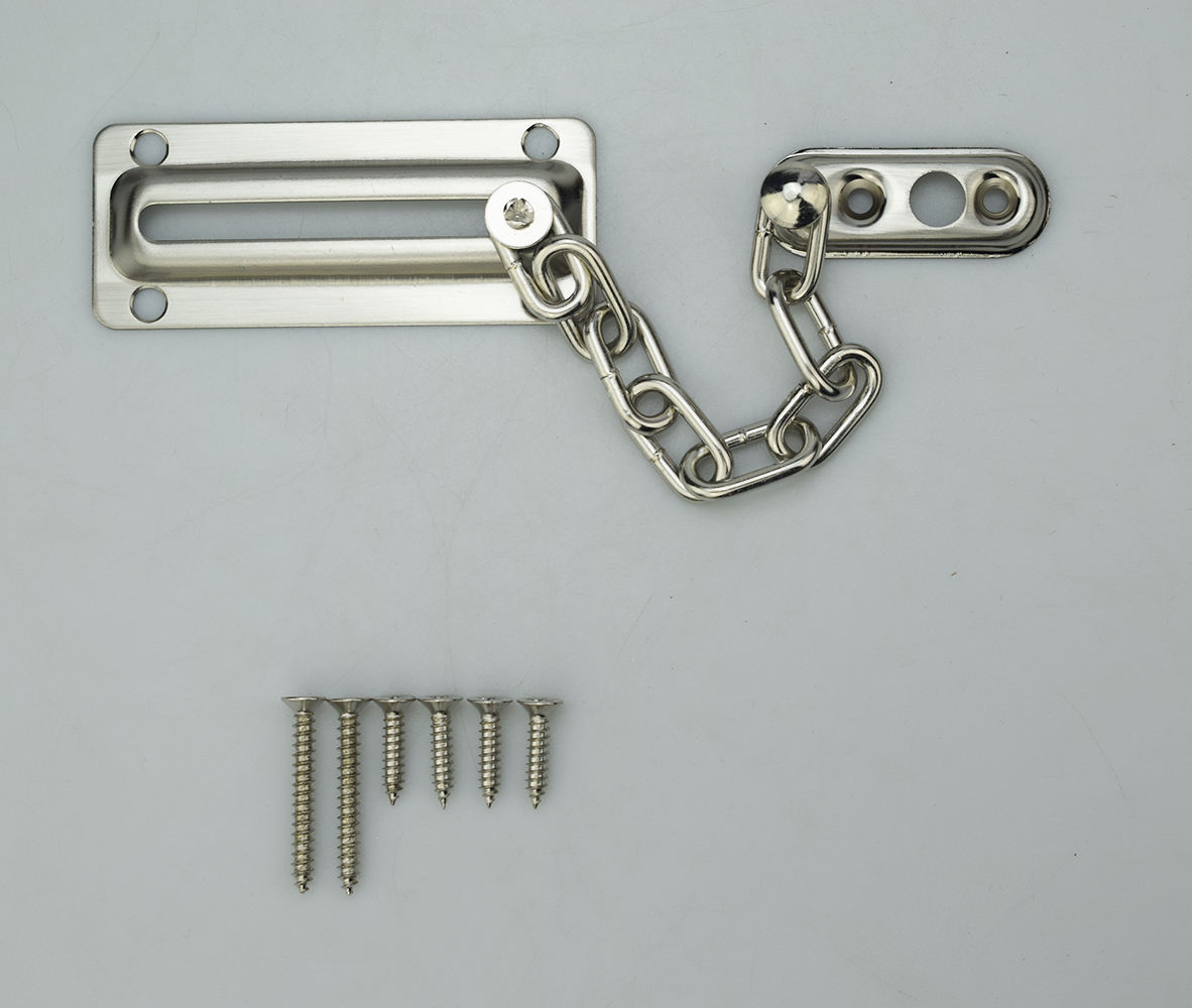 Extra-두께의 문 체인 Lock 304 Stainless Steel Casting 문 보안 체인 Guard, heavy Duty Latch Lock Inside 대 한 문