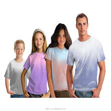 hot sales thermochromic v neck camouflage remove print t shirt