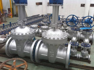 API Cast Steel Bolted Bonnet B.W Gate Valve China Manufacturer