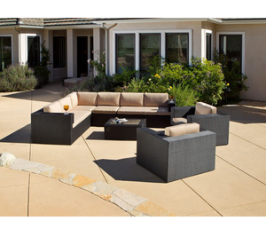 Oasis 7pcs Outdoor Sectional Seating outdoor fancy sofa sets