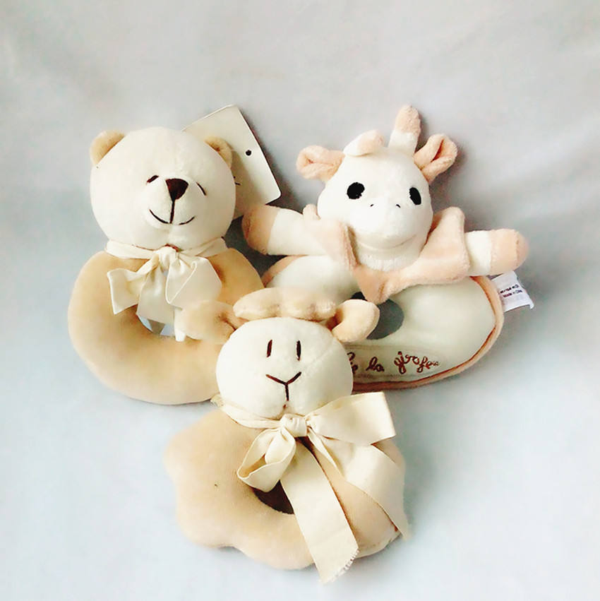 Soft [ Plush Toys ] Plush Design Baby Plush Toy Soft Safe Plush Baby Rattle Toys