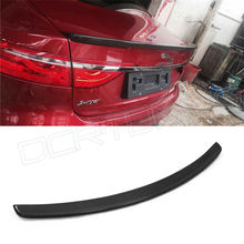 Carbon Fiber Car Rear Trunk Spoiler For Jaguar Carbon Spoiler XF X260 2016 - UP