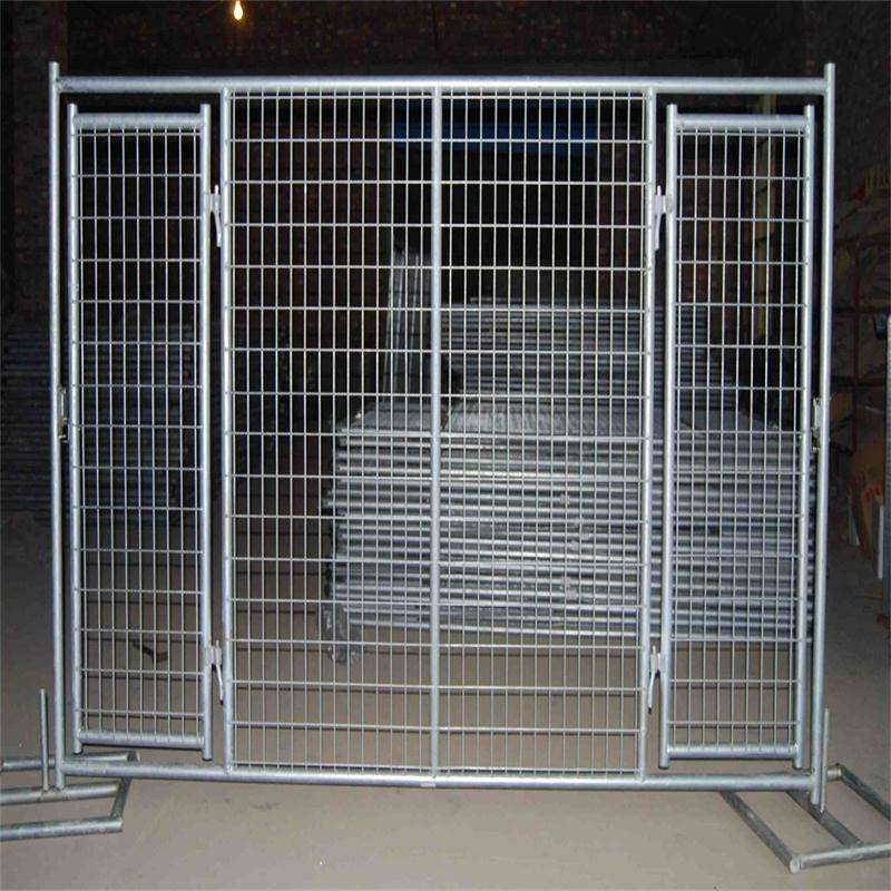 Fence Low Price Galvanized Or PVC Coated Fence Gate