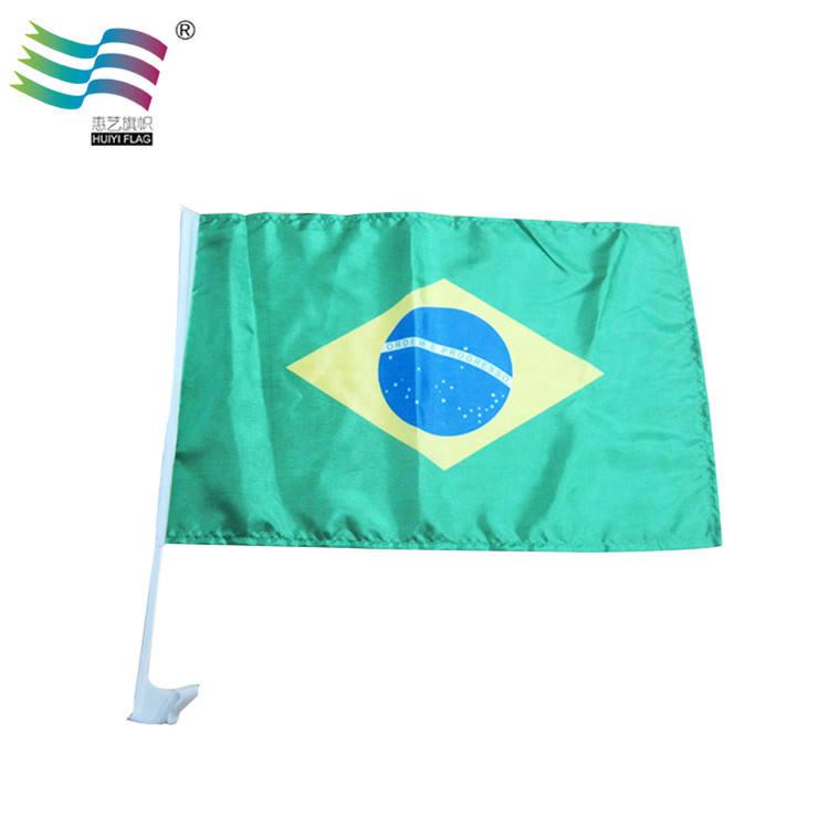 Bandeira do país para a bandeira da janela de carro com adesivo