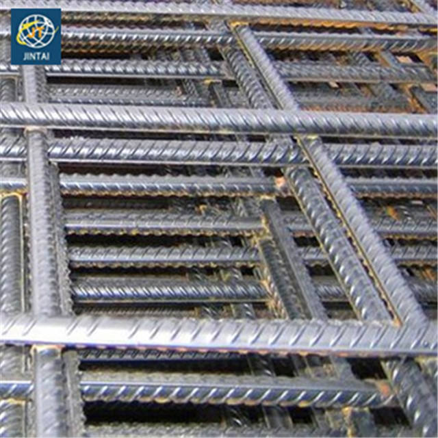 Bahan Bangunan Logam 6X6 Beton Memperkuat Welded Wire Mesh Panel