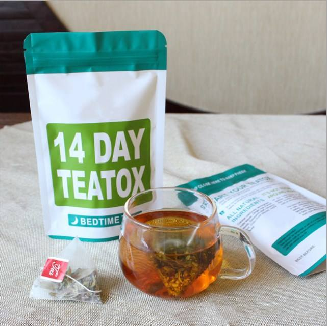 Loss weight burn fat flat tummy slimming tea/Morning Boost Flat Tummy Detox Tea