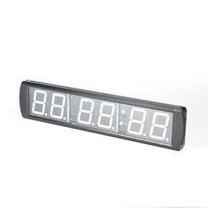 Professionele Gym 6 Led Remote Cross Fitness Training Interval Timer