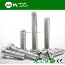 Carbon Steel Hot DIP Galvanized/HDG Slotted Cheese Head Machine Screw DIN 84