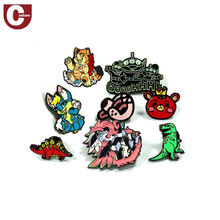 Wholesale metal travel souvenir custom logo lapel pin production