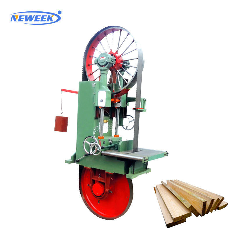 NEWEEK vertical timber wood log cutting diamond band saw blade machine