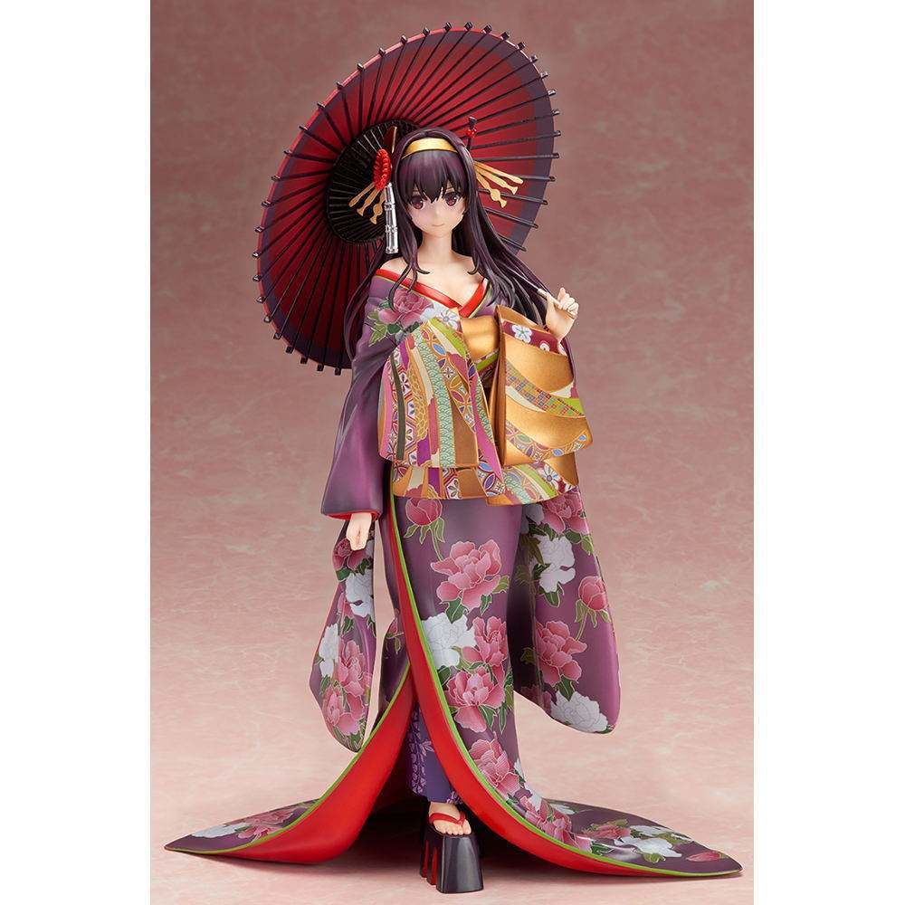 Hot Selling Top Anime Figure Toys Plastic OEM PVC Kimono Girl Action Figures