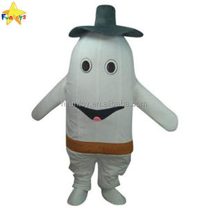 Funtoys CE Cute White Tooth Adult Mascot Costume for Promotional