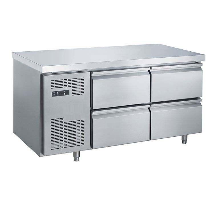 Approvazione Del CE Basi Sottopiano In Acciaio Inox Refrigerazione 6 Cassetti Chef Frigoriferi