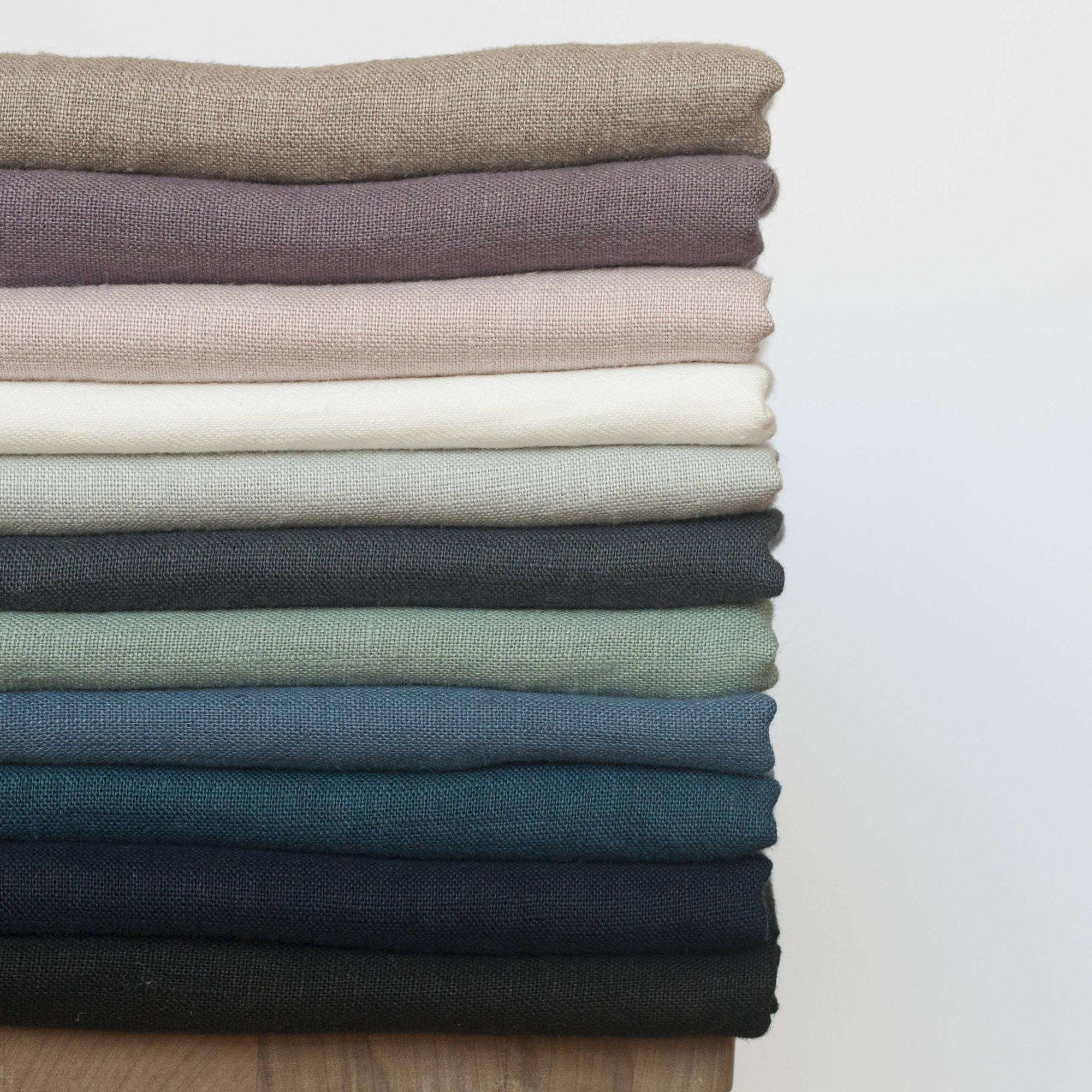 100% French Linen fabric, Flax linen bed sheets fabric wholesale