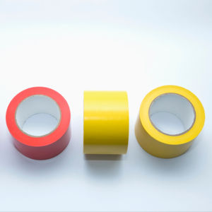PVC Tebal Floor Marking Tape Vinyl Tape Single Sided Lantai Tape Menandai