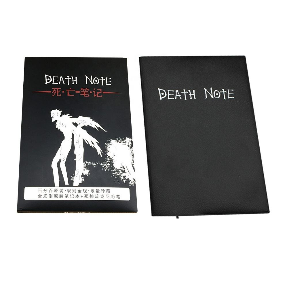 Fashion Notebook Tema Anime Death Note Notebook