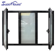 Superhouse casement doors and windows with stainless steel insect screen