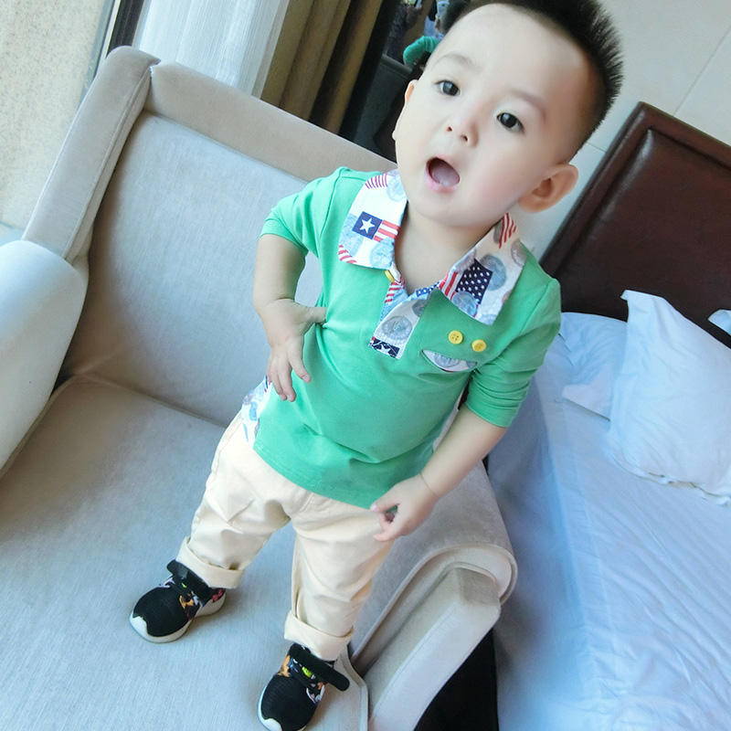 Korean Style Newborn Baby Clothing One Piece Cotton Infant Boys Clothes
