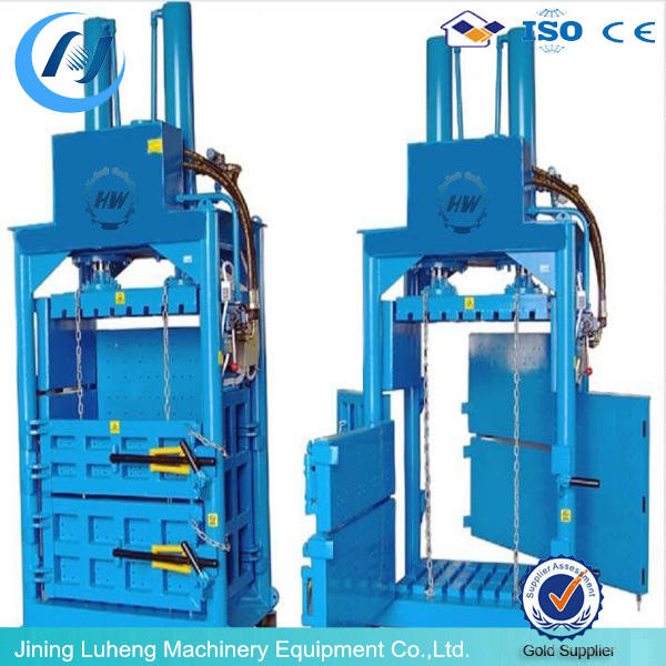 low price sawdust wood shavings press baler machine with lowest price