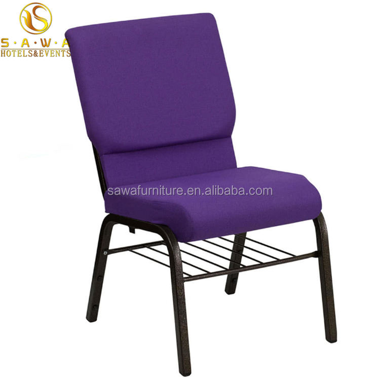 Wholesale Metal Stacking Church Chair Sale for Auditorium