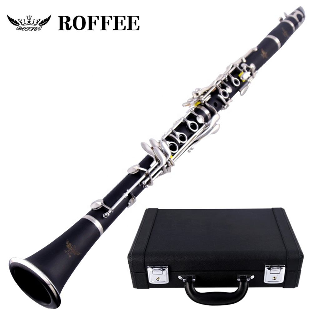 706 Professional Performance Level ABS Silver Plated A Tone Clarinet cheap clarinet